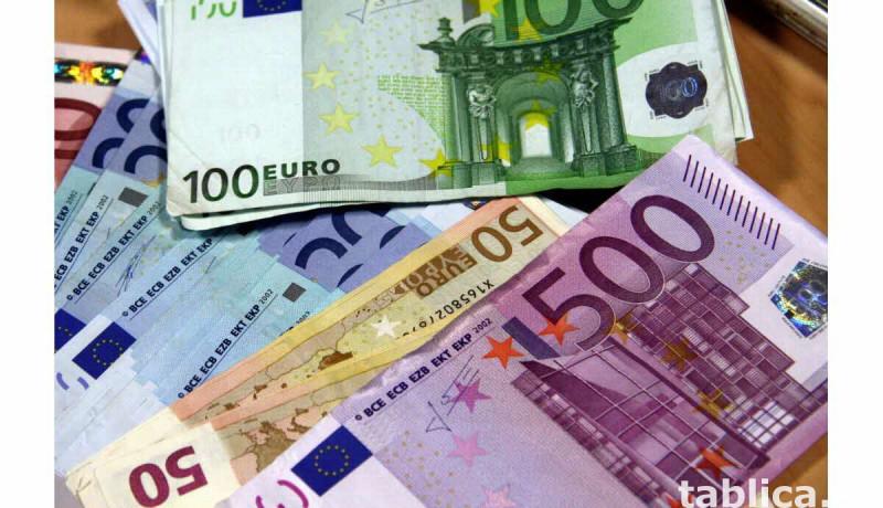 Właśnie otrzymałem dofinansowanie w wysokości 45 000 euro. 0