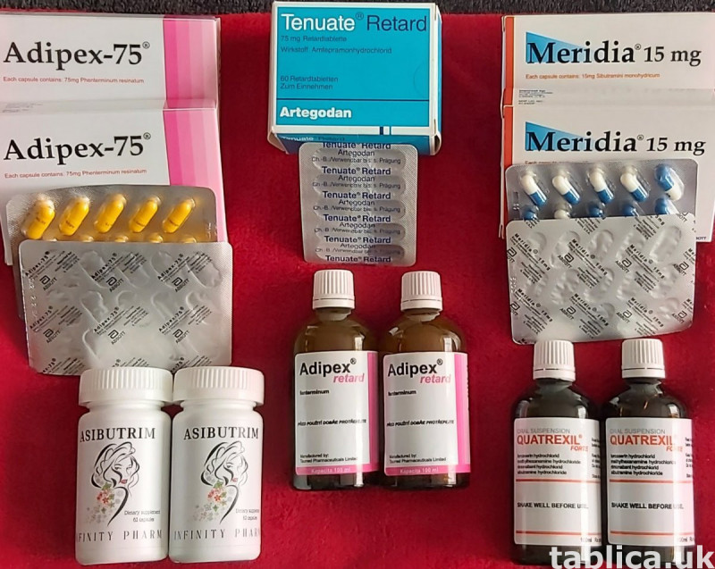 Quartrexil forte -Zelixa -Reductil -RX9 2