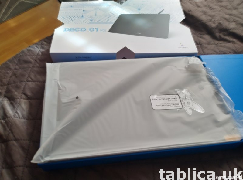 sprzedam Tablet graficzny Xp-Pen Deco 01v2 nowy nieużywany  5