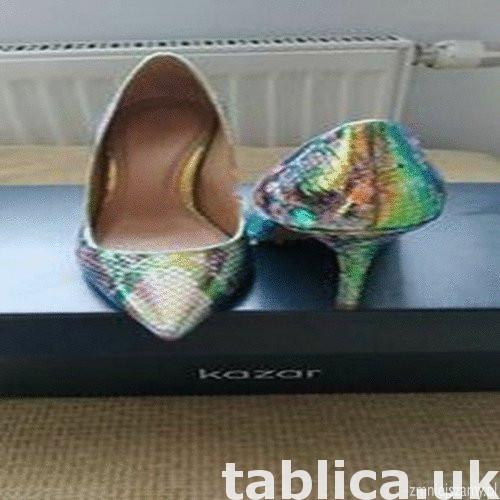 Sprzedam oryginalne nowe z metka buty holograficzne szpilki  2