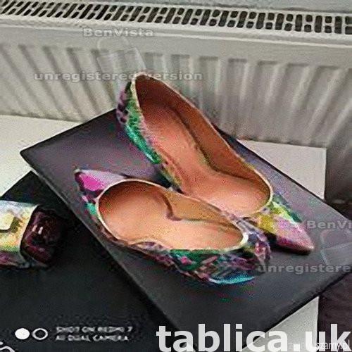 Sprzedam oryginalne nowe z metka buty holograficzne szpilki  3